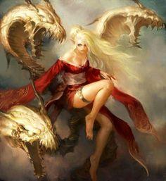 Mère aux dragons