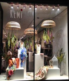 The new window is up! Had fun making these basket props @dessatoronto now relocated to north side of the Danny is under a new name with @kemitrading under a new collaboration of these two fantastic brands. Make sure you stop by to check them out!!!. #displays #visualmerchandising #propstyling #worklife #spring2016 #flowers #provencale