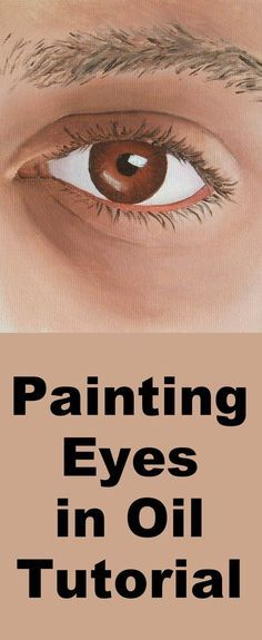 Learn how to paint a realistic eye with this oil painting tutorial