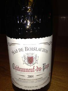 2004 Mas de Boislauzon Chateauneuf-du-Pape France