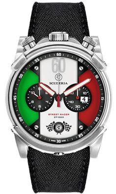 CT Scuderia Watch Street Racer Chronograph