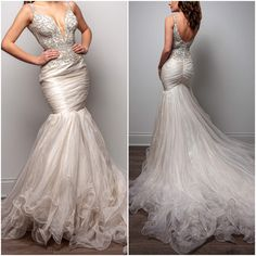 Queenly | Buy and sell prom, pageant, and formal dresses Sherri Hill White, Girls Dresses, Formal Dresses, Wedding Dresses, Best Gowns, First Girl, Pageant, Ruffles, Mermaid