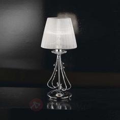 Elegancka designerska lampa stołowa Emma 5016274