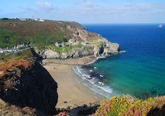Trevaunance Cove, St Agnes, Cornwall. A little piece of heaven. My home town beach x