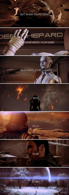 who lives who dies who tells your story #masseffect