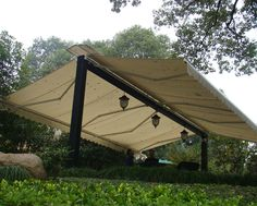 Freestanding+Triangle+Shade+Sail | Both Sides Open Awnings, Free Standing Awning (SAW002)