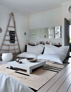 Modern scandinavian with an ethnic vibe