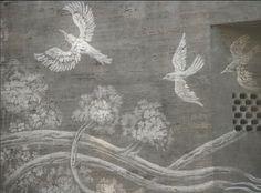 Reverse Graffiti: Street Artists Tag Images on Walls by Scru.- Reverse Graffiti: Street Artists Tag Images on Walls by Scrubbing Them Clean Reverse graffiti - Street Art Graffiti, Graffiti Murals, Murals Street Art, Reverse Graffiti, Arabesque, Graffiti Designs, Tag Image, Unusual Art, Land Art