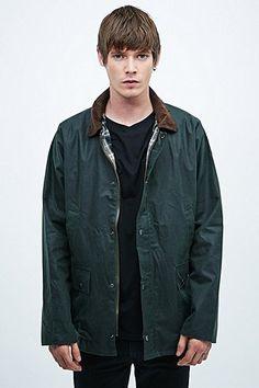 Urban Renewal Vintage Surplus Wax Jacket in Olive - Urban Outfitters
