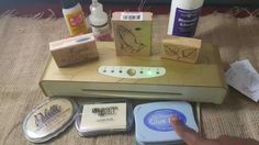 A short tutorial showing how to foil with rubber/clear stamps using a variety of glues and the Minc machine.