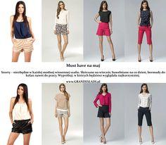 Szorty, niezbędne w szafie każdej lubiącej modę dziewczyny. Oto nasze propozycje szortów na wiosnę 2015.