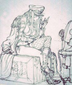 ArtStation - CUT- 33-35, Stato Ozo Anime Lineart, Figure Drawing Models, Fantasy Art Landscapes, Graffiti Drawing, Anime Drawings Sketches, Masks Art, Dark Fantasy Art, Character Design Inspiration, Anime Art Girl