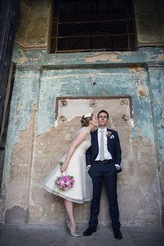 Bright & Fun Pink Peonies Wedding