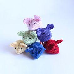 Tiny Mouse Amigurumi Pattern