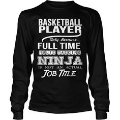 #BASKETBALL PLAYER, Order HERE ==> https://www.sunfrogshirts.com/LifeStyle/126736130-765093249.html?53625, Please tag & share with your friends who would love it, #xmasgifts #birthdaygifts #renegadelife