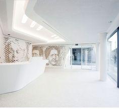 Raiffeisen Bank Open Lounge, Zurich by NAU + DGJ