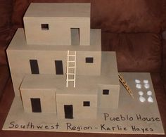 School Projects: Southwest Region Native American Pueblo House - Blessings Multiplied