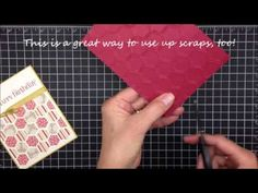 In this 1 Minute to WOW! Video Tutorial, I share how to create quick & easy hexagons.   More Stampin' Up! card ideas, paper crafting and stamping tips on my Stampin' Pretty blog, http://stampinpretty.com.  Mary Fish, Independent Stampin' Up! Demonstrator