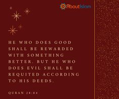 He who does good shall be rewarded with something better!
