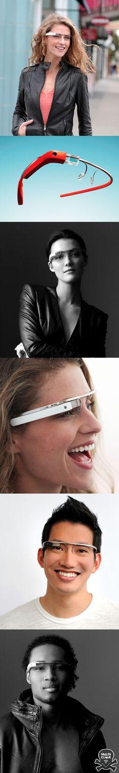 Google glass - Computador óculos                                                                                                                                                                                 Mais