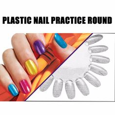 1pcs new green christmas series nail art stickers adhesive nail 10 wheels set round acrylic plastic nail art tips palette practice polish displaying wheels practice chart prinsesfo Image collections