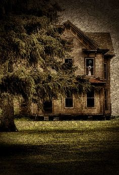 Old Farm House...See The Ghost In The Window???