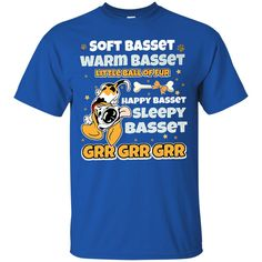 Dog Basset Hound Shirts Soft Warm Happy Sleepy Basset T shirts Hoodies Sweatshirts