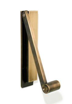 PENDULUM DOOR KNOCKER - BRONZE   DSHOP