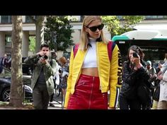 Street Style Highlights | Paris Fashion Week S/S 2018 - YouTube