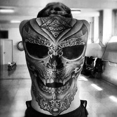 If you want to make 3D Skull back tattoo yourself and you are looking for the suitable design or just interested in tattoo, then this site is for you.