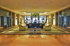You'll immediately know you're somewhere special when you walk into the lobby at Four Seasons Ritz in Lisbon