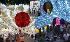 Portuguese city is draped in thousands of STUNNING handmade petals