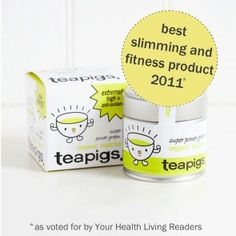 TeaPigs Detoxifying & Slimming matcha tea!