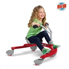 8 ride-on toys sure to make your child squee - Kids Ride On Toys, Kids Toys, Little Red Wagon, Spin Out, Radio Flyer, Book Gifts, Holiday Gift Guide, Cool Toys, Kids Playing