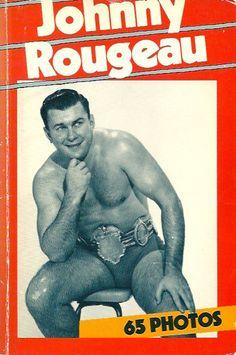 ROUGEAU, JOHNNY. Johnny Rougeau. 65 photos. (Dédicacé)