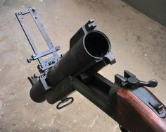M79 with an open Breach