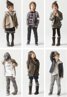 zara kids - boys & girls