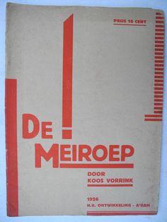 [Fré Cohen] Koos Vorrrink: De Meiroep, NV Ontwikkeling 1926