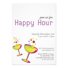 Hy Hour Tails Party Invite Tail Invitation Cards Invitations
