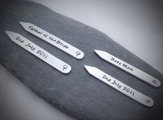 Collar stiffeners, nice and unique gift for the boys