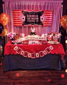 Magic themed birthday party | Parties | Pinterest | Birthdays ...