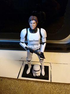 Black Series Han Solo Display Stand