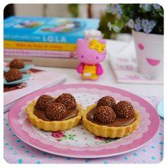 Tortinha Brigadeiro de Amarula | Vídeos e Receitas de Sobremesas