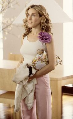 Carrie Bradshaw in #harmonie colors :)