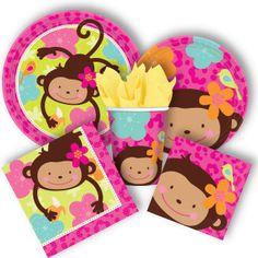 Monkeys @Jennifer Leonard this would be so cute for Sloane's 1st birthday