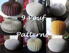 Crochet Pattern Knitting Pattern 9 Knitted & Crochet by isWoolish