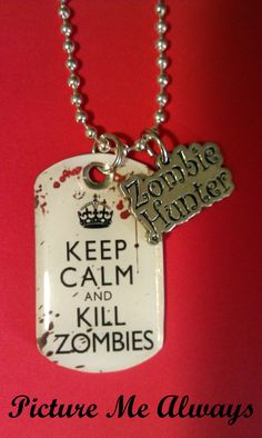 Keep Calm And Kill Zombies and save 15% using the code 3 bittles