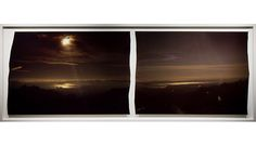John Chiara -Many times this process involves composing pictures from the inside of a large hand-built camera, that is mounted on a flatbed trailer, and produces large scale, one of a kind, positive exposures.