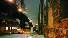 Post with 0 votes and 690 views. Williamsburg Bridge at night as seen from Wythe Avenue, Williamsburg, Brooklyn [OC] x Williamsburg Bridge, Williamsburg Brooklyn, Blue Hour, City That Never Sleeps, Concrete Jungle, Gotham City, Places Ive Been, New York City, Cool Photos
