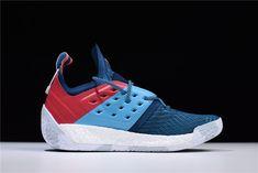 "innovative design eaec0 d2699 2018 adidas Harden Vol. 2 ""Blue Night"" Bright Cyan-Shock Red AH2216"